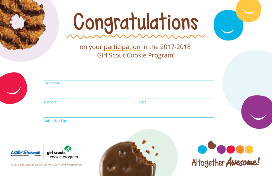 for cookie sellers girl scouts san diego