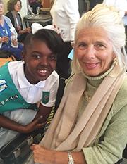 Ellen Whelen and Girl Scout