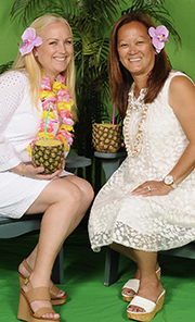 Urban Campout co-chairs Karen Benito and Denise Scott